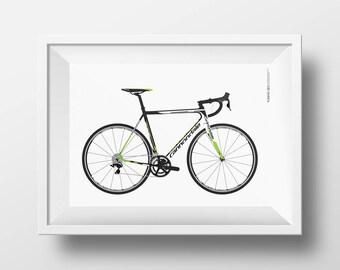 Custom Bike Illustration