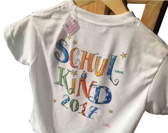 T-Shirt School child 2018