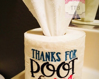 Novelty toilet paper Official Retirement Papers gag gift