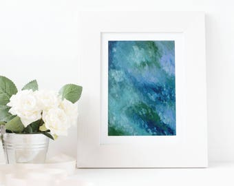 Tides Abstract Art Acrylic Print