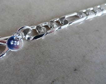 bracelet in 925 Sterling Silver + Certificate of authenticity