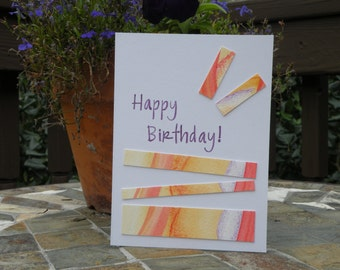 Hand-crafted Birthday Card