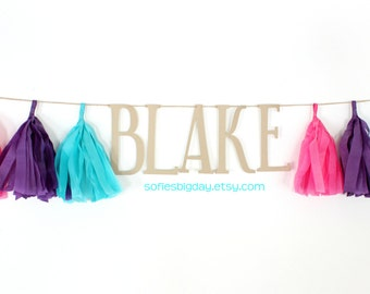 Girl Dinosaur Banner-Tassel Banner/ Girl Dinosaur name banner-Dinosaur birthday-girl Dinosaur decor-girl dinosaur party-dinosaur party decor