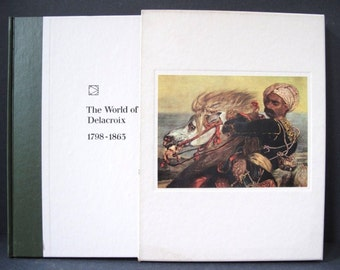 The World of Delacroix Art Book 1st Printing