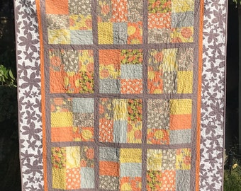 Handmade Quilt, throw