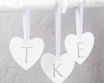 Personalised Heart Valentine's Day Decoration