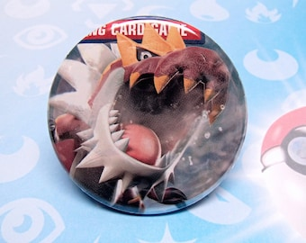 "TYRANTRUM - Pokemon 2.25"" Pinback Button"