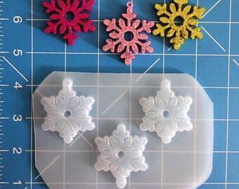 Snow flakes mold