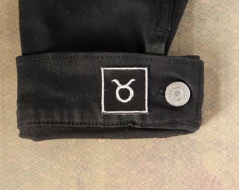 Taurus Astrology Patch PAIR