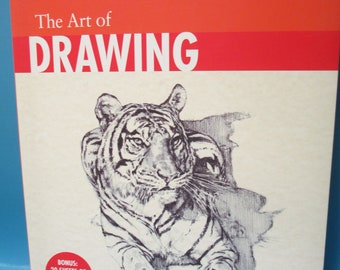 DIY The Art of Drawing book new how to draw plus 20 sheets of drawing paper bound in notebook style book
