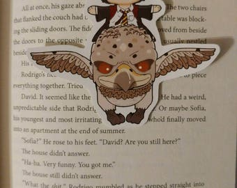 Magnetic Bookmark-Flying Friends