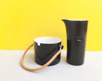 Schmid Kreglinger 'Kelco' Lagardo Tackett-designed milk jug/creamer and sugar bowl