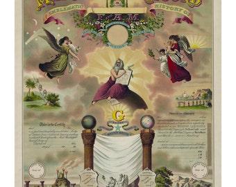 Masonic Record And Emblematic History 1890
