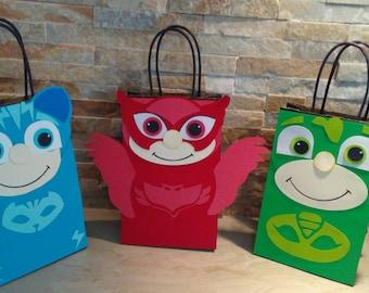 Pj Mask Goody Bags/ Pj Mask  Favor Bags/ Pj Mask goodie bags