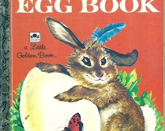 Children's Little Golden Book~THE GOLDEN EGG Book