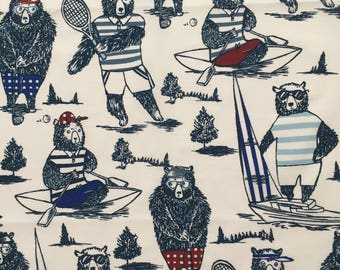 custom baby burp cloth ~ club bear ~ premium 6 ply cloth diaper burp cloth ~ baby accessories ~ from lillybelle designs