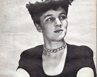 Ladies' Home Journal No. 2033 Spanish Beret - Ole!!! 1943