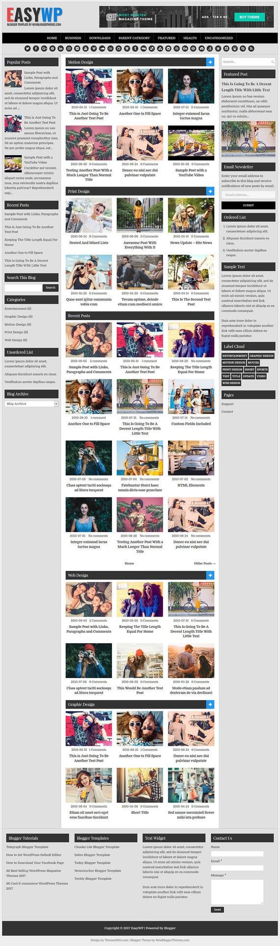 Wunderbar 3 Spalten Blogger Vorlagen Bilder - Beispiel Anschreiben ...