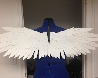 Realistic White Bird Cosplay Wings