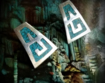 Mexican Turquoise Earrings