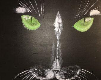 Canvas Acrylic The Cat
