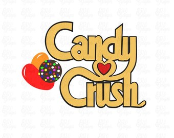 candy crush etsy rh etsy com crush logo history crush logo png