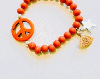 Peace Armband