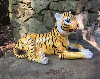 Terra Cotta Tiger Made in Italy