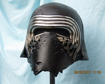 Kylo Ren Helmet Mods by Richard Campbell
