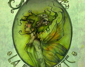 A3 Green Fairy Poster