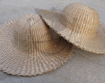 Medieval straw  hat 14-15th cent.