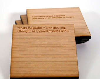 Bukowski // That's the Problem with drinking...