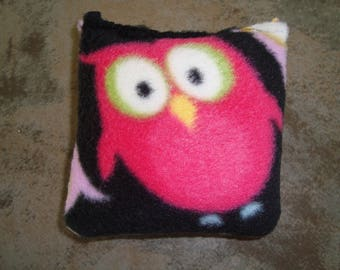 Organic Catnip Pillow w/Owls