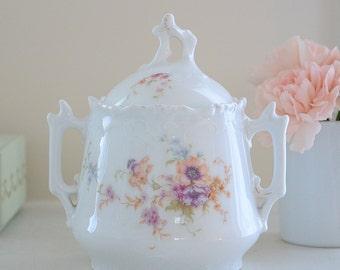 Vintage French Sugar Jar