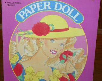 1990 Barbie Paper Doll  ~ Golden Book  Western Publishing ~ New Old Stock Unused ~ Mattel