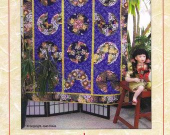 Kaginawa Gutzy Geisha Designs Quilt Pattern 2006 Kaleidoscope Blocks Pattern