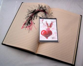 Valentine Fairy Fantasy Art Bookmark