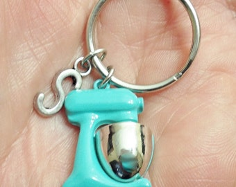 Great Design BLENDER personalized  initial keychain /D1