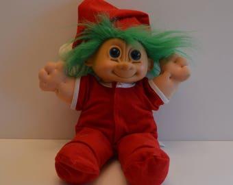 Big Christmas Troll Doll
