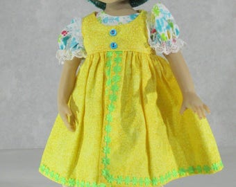 13-14 inch Doll Outfit, Cats Meow