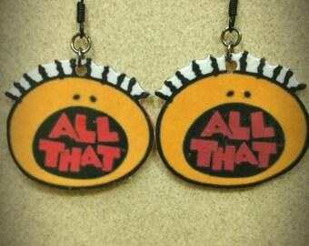 All That Earrings. 90's Nickelodeon