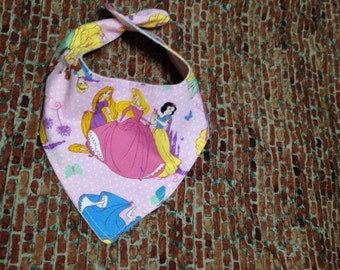 Six Princesses  Bandana Bib  (6PRNCSS/BAND-BB)