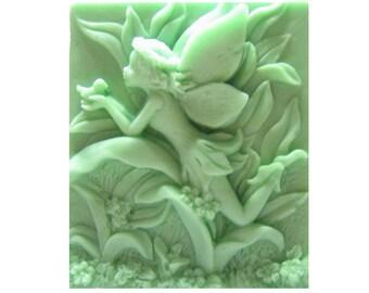 Fairy Soap -  Vegan Soap -  Decorative Gift Soap  -   Glycerin Soap  -  Organic Soap -  Moisturizing Soap -  Sweet Pea  Scent