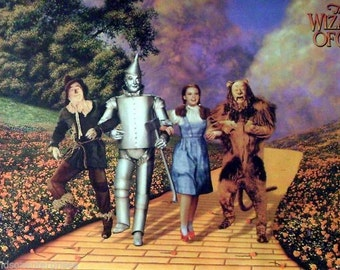 Wizard Of Oz 24x36 Yellow Brick Road Movie Poster 1996 Judy Garland
