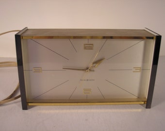 Mid Century GE Executive Desk Clock