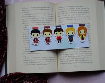Teen wolf magnetic bookmark