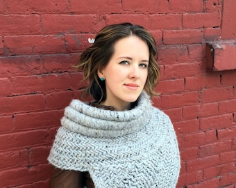 Katniss Inspired Archer Cowl - Made to Order