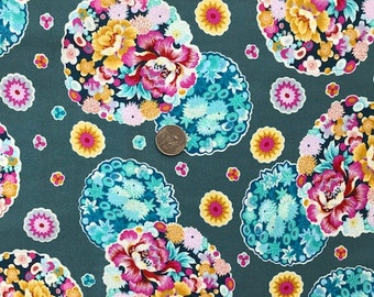 Cloud Blossom Heat - Night Music - Amy Butler  PWAB007 100% Quilters Cotton - You choose the Length