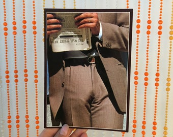 Vintage 'A Swell Guy' Birthday Card by Snapshot Cards