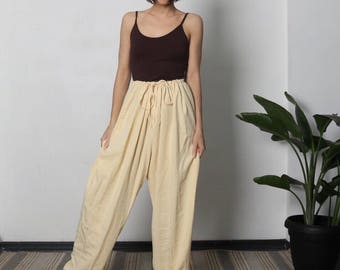 PLUS SIZE, LOOSE Pants, Tencel Fabric, Plus Size High Waist Pants, Womens Palazzo Pants, High Rise Pants, Tall Pants, Size 1x xl xxl
